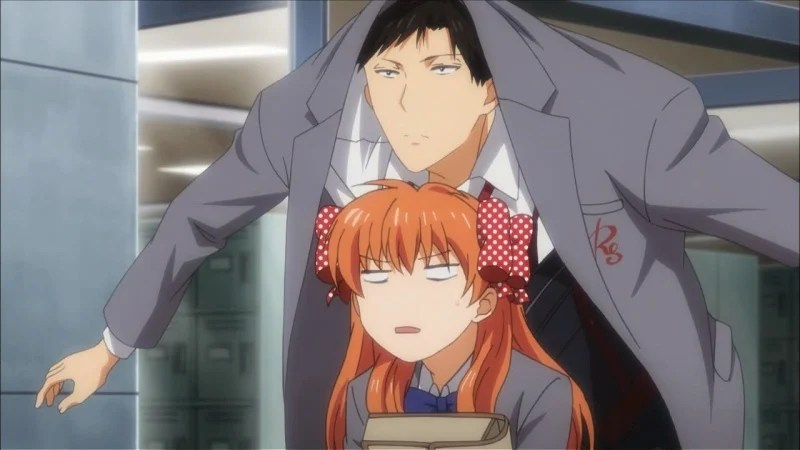 Girl And Boy Romantic Wallpaper Monthly Girls Nozaki Kun Anime Planet