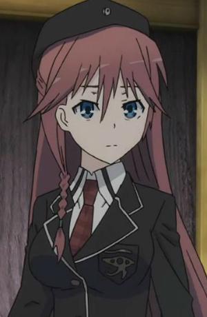 Red Hair Girl Wallpaper Hd Lilith Azami Anime Planet