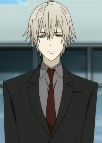 anime boy with brown hair