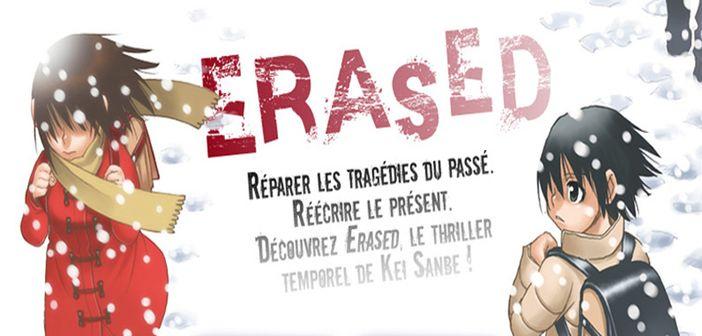 Fin confirmée pour Erased