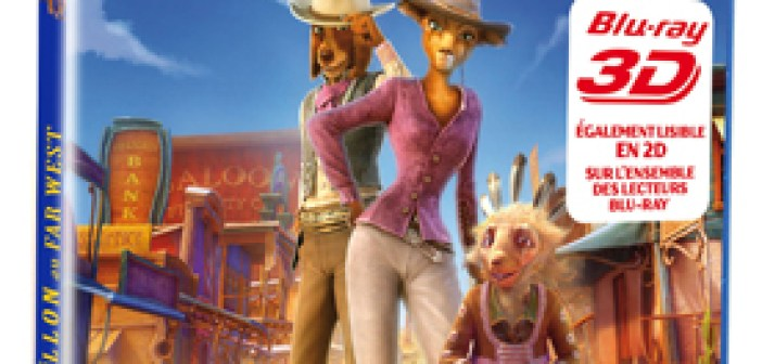 Cendrillon au Far West • Blu-ray 3D