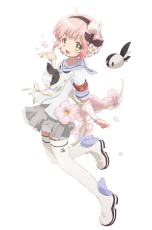 Silhouette Girl Real Wallpaper Magical Girl Raising Project Anime Casts Saori Hayami Yu