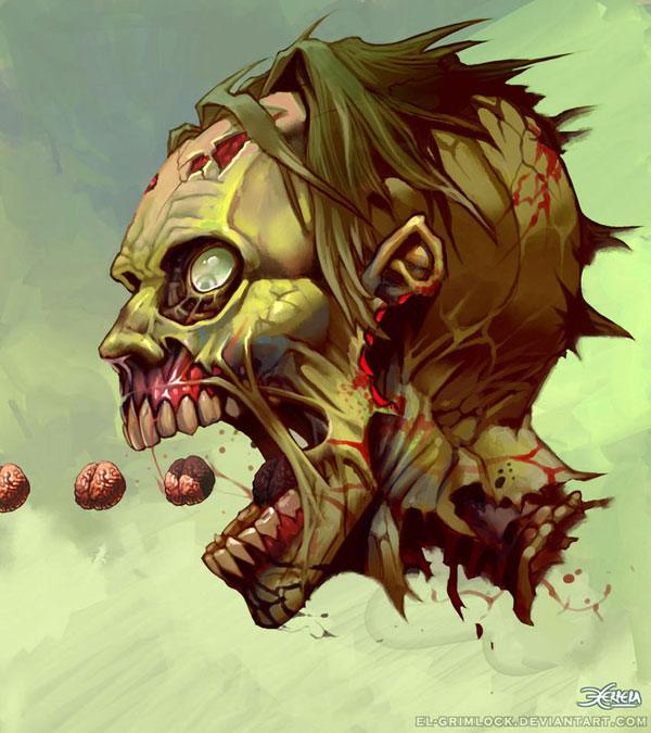 Scary Zombies vector art