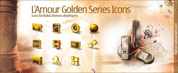 golden series icons