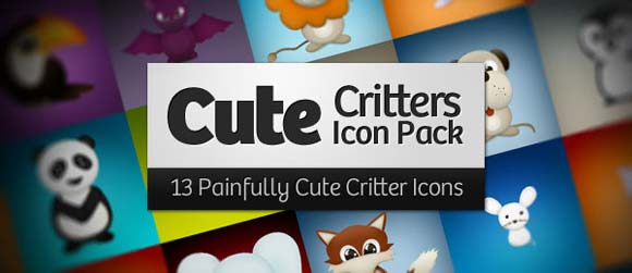 cute-critters-free-icon-pack