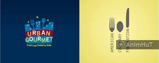 70 food logo