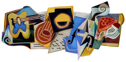 Today's Google Doodle celebrates Juan Gris 125th birthday