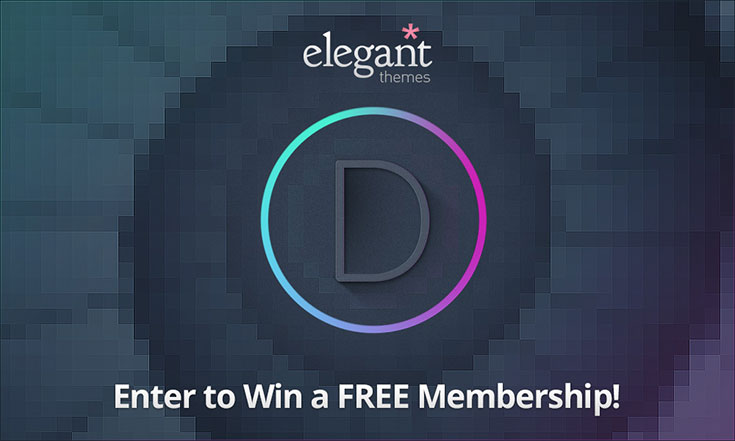 Win AnimHuT Giveaway #100: Elegant Themes Developer Account