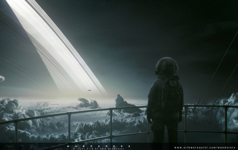 Concept of What Our Future in Space Might Look Like – Wanderers