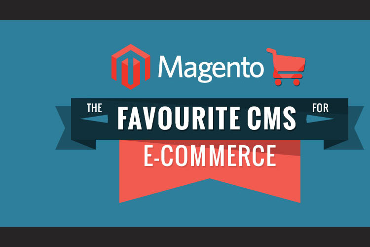 Infographic on The Best eCommerce CMS for Magento