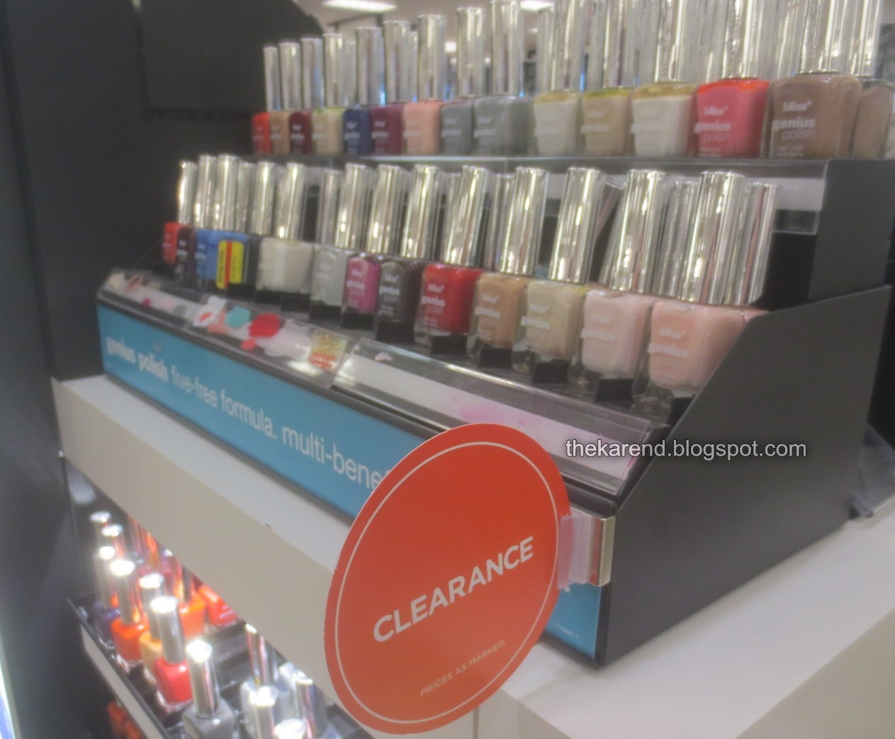 Nail Polish June 2018 Locations Hession Hairdressing