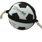 Fotboll med snöre