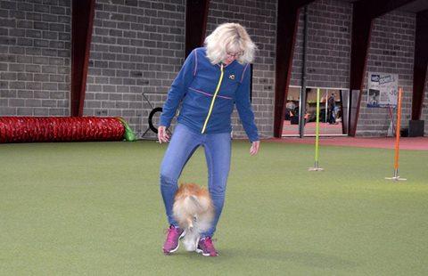 """Foto: Emmy M Simonsen. Mycket förtjust i Danskarnas system med """"Färdighetspröve"""", som är en form av tävling i tricks."""
