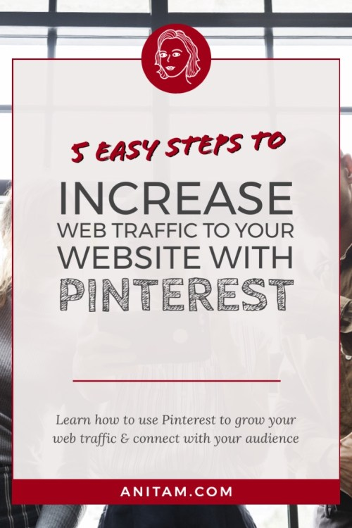 How to drive web traffic with Pinterest | AnitaM