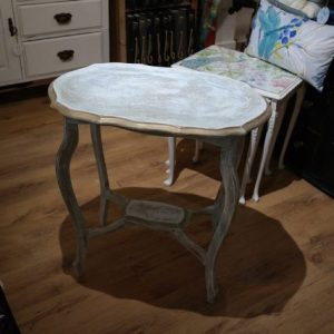 Chalk paint Finish Hall Table Shabby Chic