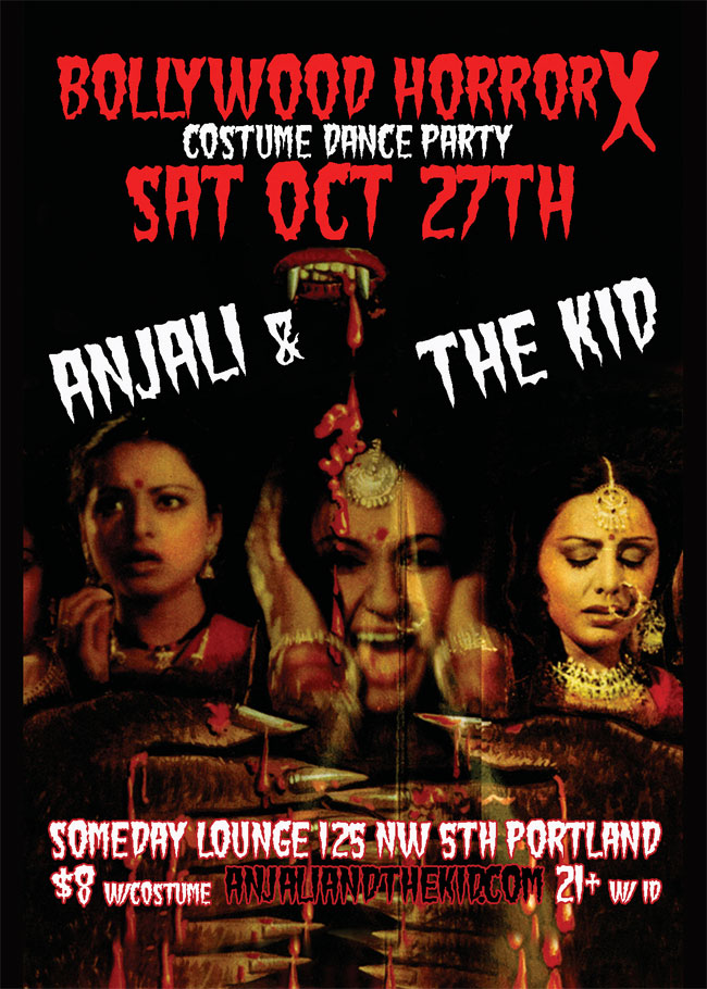 bollywood horror halloween party