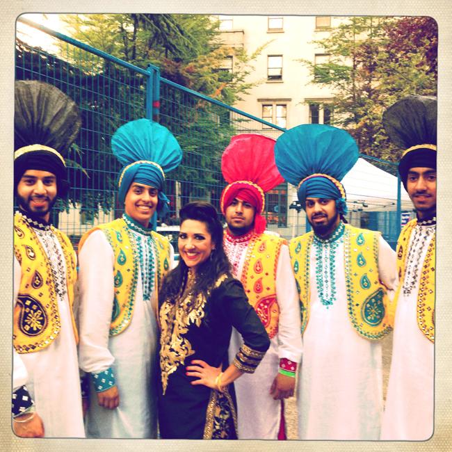 dj anjali surrey folk bhangra club