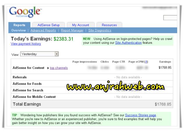 INILAH Cara Mendapatkan Uang dari Google Adsense Youtube ...