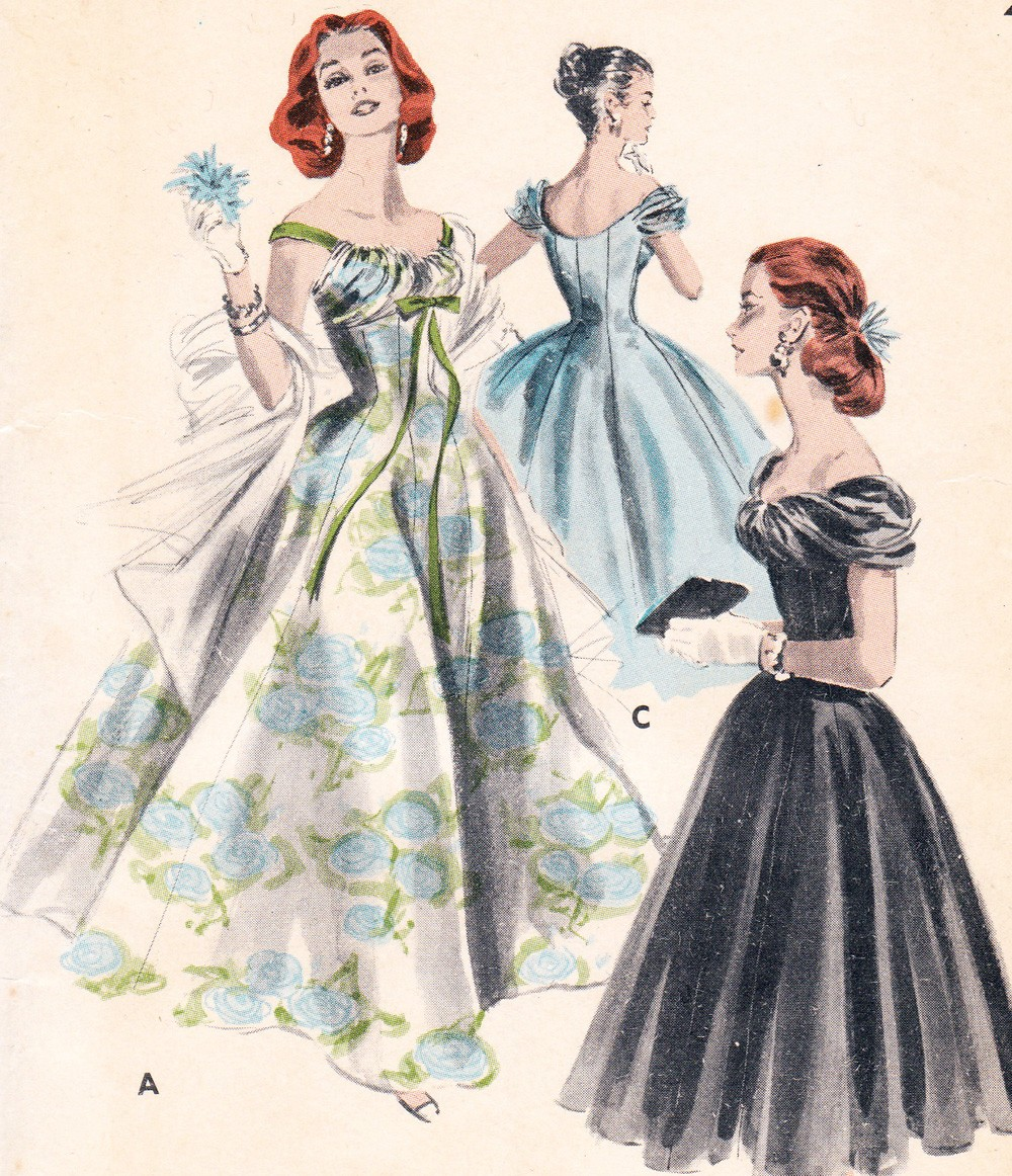 1950 S Evening Dresses