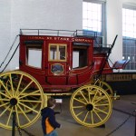 Early B&O railroad wagon