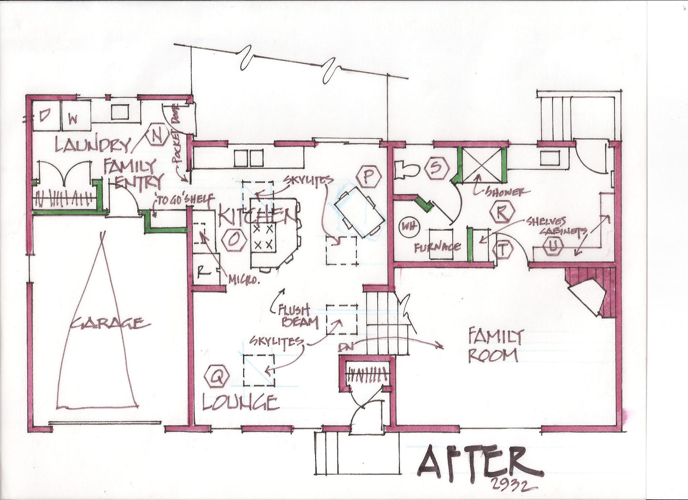 taking on the challenges of remodeling split level homes split level kitchen remodel spaces after