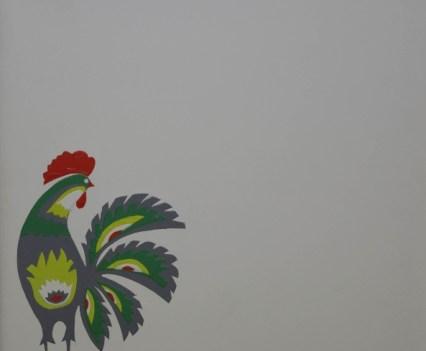 """""""Kogut"""", 2012 Acryl auf Leinwand, 22x22 cm"""