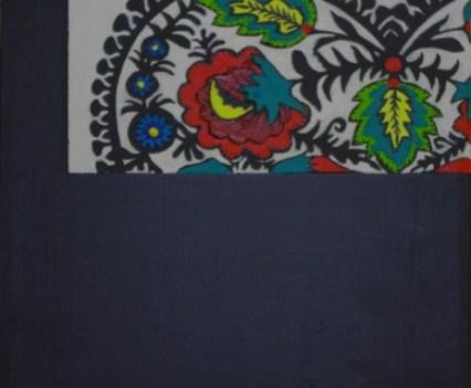 """Maki"", 2011 Acryl auf Leinwand, 16x24 cm"