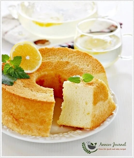 Lemon Chiffon Cake Recipe Singapore | Food Fox Recipes