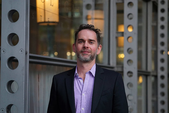 Cory Jones, chief content officer at Playboy. Credit Nicole Bengiveno/The  New York