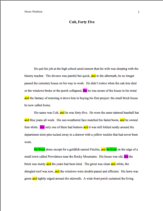 Word count \u2013 Author! Author! Anne Mini\u0027s Blog