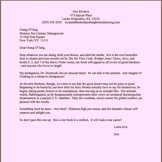How to write a query letter step by step \u2013 Author! Author! Anne