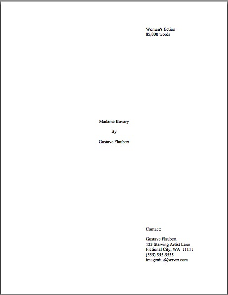 How do I format a title with a colon in it on a title page or in the - proper cover page