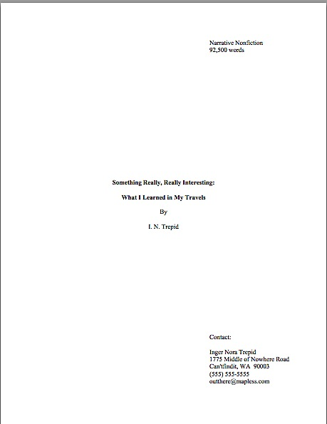 How to format a title page if your book has a subtitle \u2013 Author