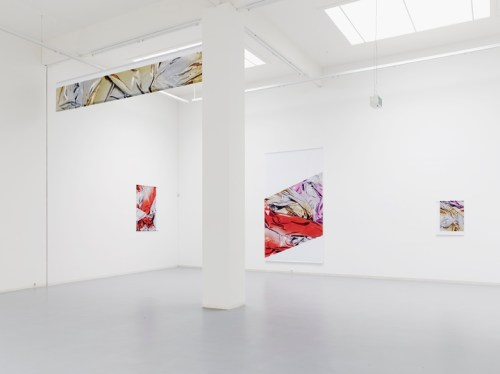 Banners and Cropped Images, group exhibition at Bonner Kunstverein 2014