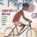 One-legged boy rides a bicycle.