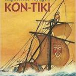 Cover of The Impossible Voyage of Kon-Tiki showing a balsa wood ship.
