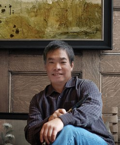 Portrait of Rich Lo, artist