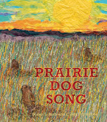 Cover of book showing prairie dogs peeking out of their burrows