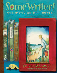 Cover of Some Writer, showing a boy feeding pigs