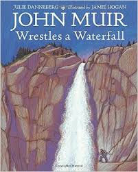 Cover of book shows dramatic waterfall.