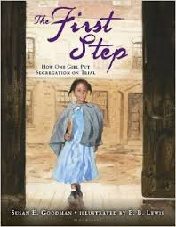 Cover of Carter G. Woodson Honor book shows a black girl striding purposefully.