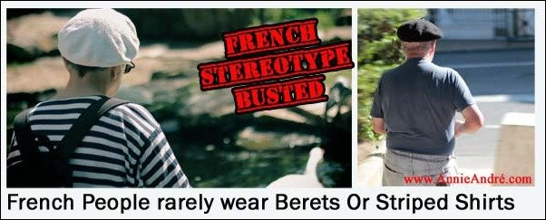 Top 10 french stereotypes about france the people for French striped shirt and beret