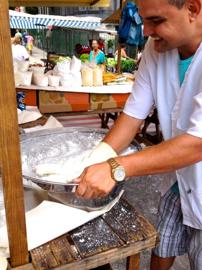 Tapioca making