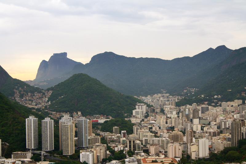 Vue du pain de sucre à Rio de Janeiro