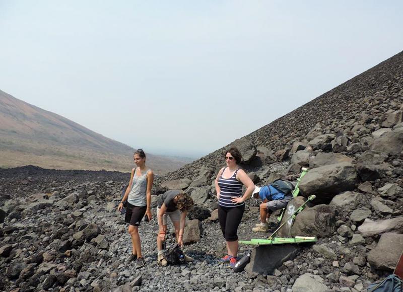 Montée du Cerro Negro, Nicaragua