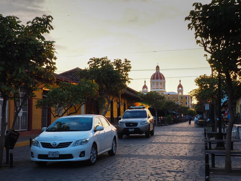 Coucher de soleil sur Granada
