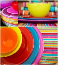 Coloured Tableware & Paper Plates - Coloured Sc 1 St ...