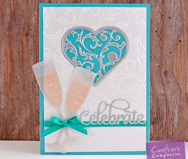 Celebrate with Champagne Card by Annie Williams - Main