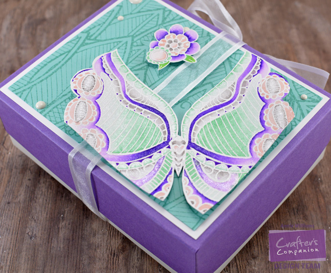 Colorista Butterfly Gift Box by Annie Williams - Side