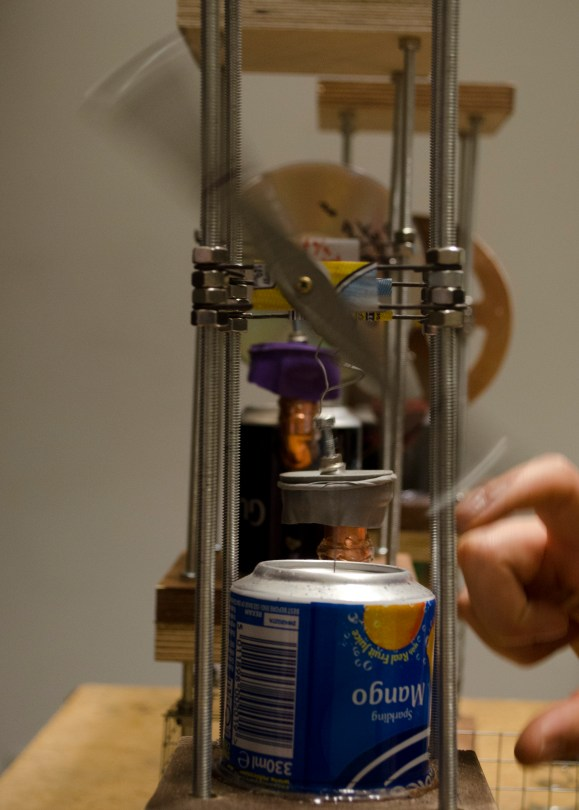 Stirling Engine Maintenance, detail